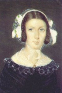 Miniature portrait of Fanny Brawne
