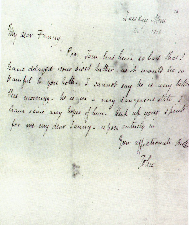 John Keats writing techniques