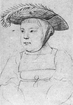 Sketch of Henry VIII as a toddler