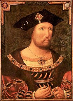 Portrait of King Henry VIII by an unknown artist