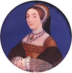 Miniature portrait of Catherine Howard by Hans Holbein the Younger