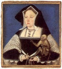 portrait of Katharine of Aragon, c1525 by Horenbout