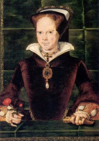Another portrait of Elizabeth's half-sister, Queen Mary I