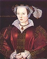 Edward VI's beloved stepmother, Katharine Parr, painted by William Scrots, c1543