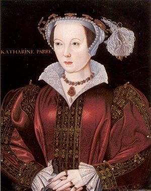 Portrait of Katharine Parr by William Scrots, c1546