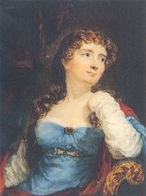Portrait of Byron's 'Princess of Parallelograms', his wife, Lady Annabella Milbanke