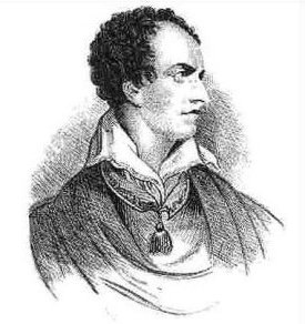Lord Byron in 1822