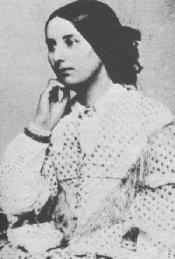 ambrotype of Fanny Brawne