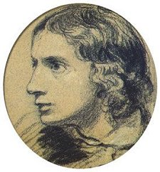 The earliest surviving portrait of Keats, by Severn in 1816.