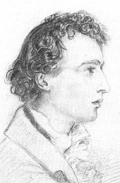 self-portrait of Joseph Severn, who accompanied Keats to Rome