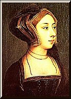 portrait of Anne Boleyn