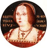 Miniature portrait of Katharine of Aragon