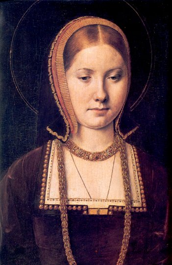 Portrait of Katharine of Aragon by Michael Sittow, c1502