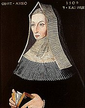 Margaret Beaufort, mother of King Henry VII