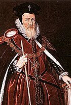 Elizabeth I's greatest advisor, Sir William Cecil