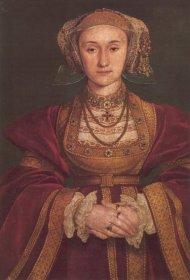 Holbein's betrothal portrait of Anne of Cleves