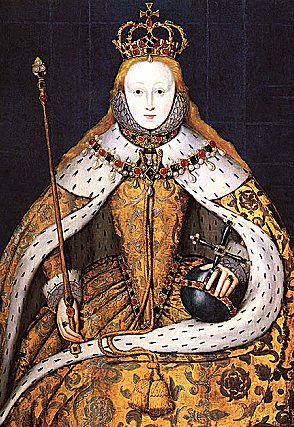 The 'Coronation Portrait' of Elizabeth I; late 16th copy of a lost original