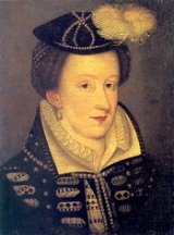 Elizabeth I's troublesome cousin, Mary queen of Scots, c1565
