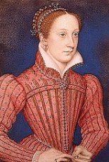 Portrait of Elizabeth I's cousin, Mary queen of Scots