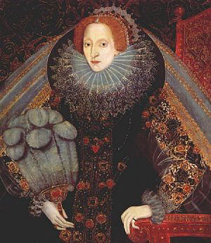 portrait of Elizabeth I
