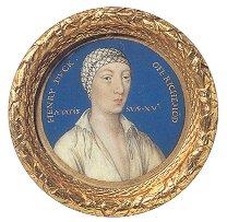 Miniature portrait of Henry Fitzroy, Henry VIII's illegitimate son