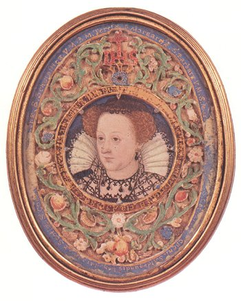 Miniature portrait of Mary, queen of Scots, c1575, by an unknown artist