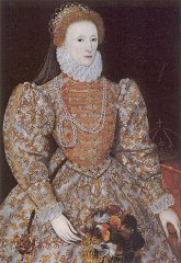 The Darnley Portrait of Queen Elizabeth I