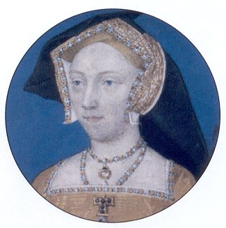 miniature portrait of Jane Seymour by Lucas Horenbout