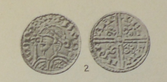 The coin of Harold I Harefoot