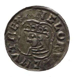 Silver penny of Canute the Great